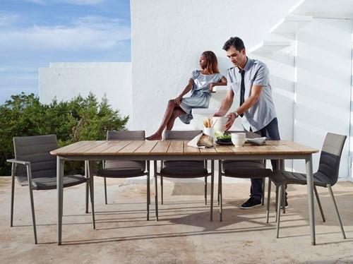 Cane-line Core stapelbare stoel  - grey-2