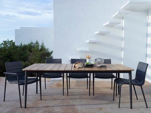 Cane-line Core stapelbare stoel  - brown