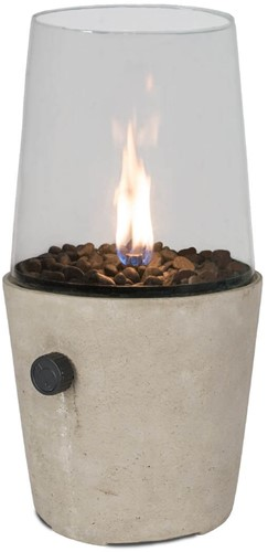 Cosi Fires gaslantaarn Cosicement, cementgrijs