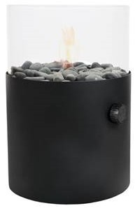 Cosi Fires gaslantaarn Cosiscoop XL, zwart