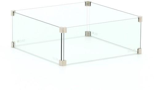 Cosi Fires Cosi glasset vierkant L, afm. 50 x 50 x 22 cm
