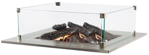 Cosi Fires Cosi glasset rechthoekig, afm. 55 x 35 cm, hoogte 21 cm, glas