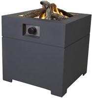 Cosi Fires vuurtafel Cosiconcrete  60, afm. 60 x 60 cm, hoogte 63 cm, 9kW, composiet, antraciet