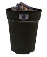 Cosi Fires vuurtafel Cosidrum 70, diam. 58 cm, hoogte 70 cm, 9kW, composiet black