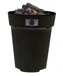 Cosi Fires vuurtafel Cosidrum 70, diam. 58 cm, hoogte 70 cm, 9kW, composiet donkergrijs