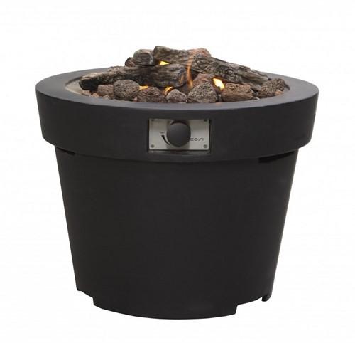 Cosi Fires vuurtafel Cosidrum 56, diam.70 cm, hoogte 56 cm, 9 kW, composiet black