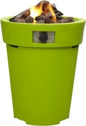 Cosi Fires vuurtafel Cosidrum 70, diam. 58 cm, hoogte 70 cm, 9kW, composiet, lime
