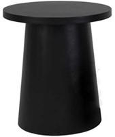 Cosi Fires bijzettafel Cosiglobe, diam. 50 cm, hoogte 55 cm, zwart composiet-1