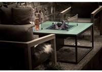 Cosi Fires loungetafel/vuurtafel Cosiloft black/grey, afm. 100 x 100 x 47 cm-2