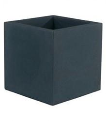 Vondom kunststof bloembak Cube, afm. 40 x 40 x 40 cm, antraciet
