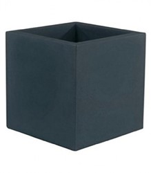 Vondom kunststof bloembak Cube, afm. 60 x 60 x 60 cm, antraciet