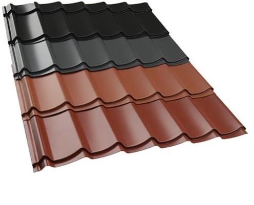 Dakpanplaten voor overkapping kapschuur Comfort met afmeting 405 x 320 cm