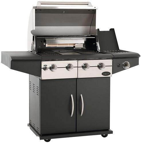 Boretti gasbarbecue Da Vinci Nero-2