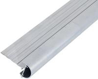 Daktrim met ronde kraal voor tuinhuis/overkapping plat dak tot afmeting 505 x 350 cm, aluminium-2