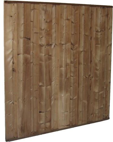 Dichtscherm, tbv beton 12x12, afm. 180 x 180 cm, modiwood