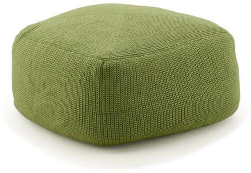 Cane-line Divine voetenbank 55 x 55 - olive-green