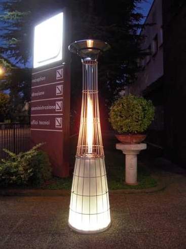 LED-verlichting voor Dolce Vita gasheater