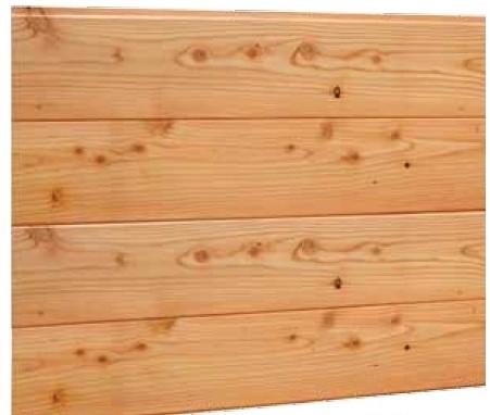 Blokhutprofiel, geschaafd, afm.  2,8 x 18,0 cm, lengte 400 cm, douglas