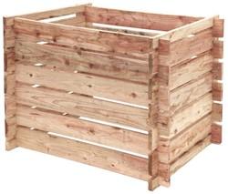 Woodvision Douglas compostsilo, afm. 70 x 97 x 70 cm