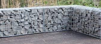 Muurkorf, afm. 180 x 60 x 12 cm, verzinkt staal, maas 10 x 3,8 cm -2