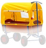 BERG Western Cover voor Beach Wagon L