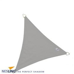 Nesling Dreamsail schaduwdoek, driehoek, afmeting 4 x 4 x 4 m, grijs