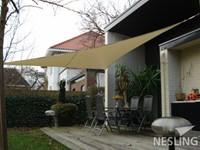 Nesling Dreamsail schaduwdoek, driehoek, afmeting 5 x 5 x 5 m, grijs-3