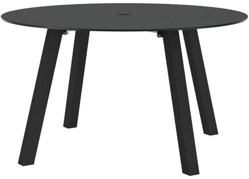Royal Botania Discus tafel met parasol gat - Antraciet