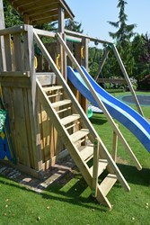 Extra leuning voor Jungle Gym  trap