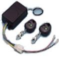 SuperJack dubbelkanaals ontvanger, incl. 2 afstandsbedieningen