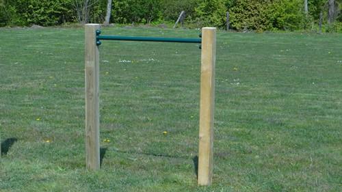 Duikelstang, afm.  Ø 3,3, lengte 125 cm, groen-3