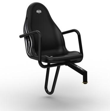 BERG Passenger seat Fendt, zwart (duostoel)