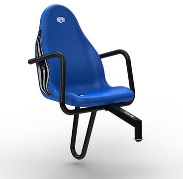 BERG Passenger seat  New Holland, blauw (duostoel)