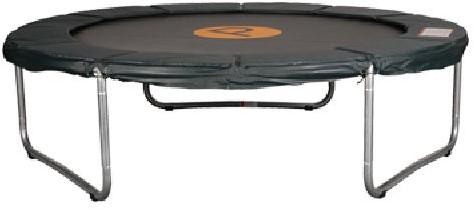 Economy trampoline, diam. 350 cm, hoogte 80 cm.