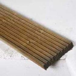 eiken geprofileerde dekdelen, afm.  2,8 x 14,5 cm, lengte 400 cm