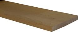 eiken balk, fijn bezaagd, afm.  5,0 x  10,0 cm, lengte 500 cm