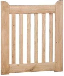 eiken poort, afm.  90 x 100 cm