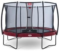 BERG trampoline Elite+ Tattoo rood, veiligheidnet T-series, diam. 430 cm.-1