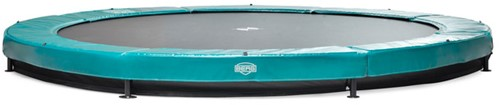 BERG Sport inground trampoline Elite+ groen, diam. 430 cm.