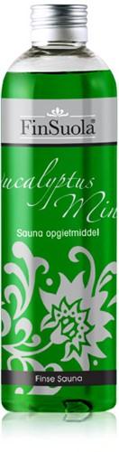 Sauna opgietmiddel, eucalyptus mint, fles 250 ml