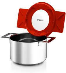 Eva Solo pan, 2,0 l/ 16 cm, rood