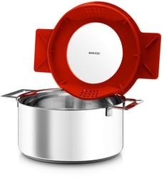 Eva Solo pan, 6,5 l/ 24 cm, rood