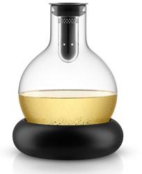 Eva Solo decanteerkaraf, inhoud 0,75 liter, met koelring,