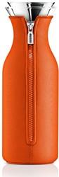 Eva Solo Fridge karaf, inhoud 1,0 liter, glas met tangerine hoes