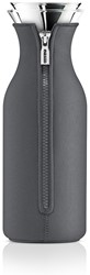 Eva Solo Fridge karaf, inhoud 1,0 liter, glas met grijze