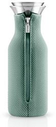 Eva Solo Fridge karaf, inhoud 1,0 liter, glas met granite green hoes in 3D
