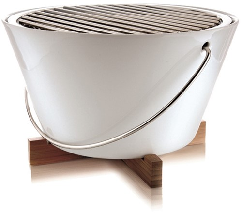 Eva Solo tafelbarbecue, diameter 30 cm, wit