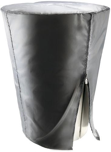 Eva Solo beschermhoes voor houtskool- en gasbarbecue met diameter 59 cm, grijs
