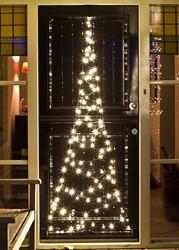 Fairybell deurkerstboom, hoogte  210 cm, 120 LED's