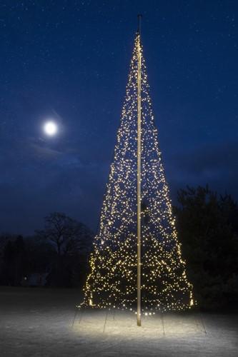 Fairybell kerstboom, 10 meter, 4000 LEDs, warm white